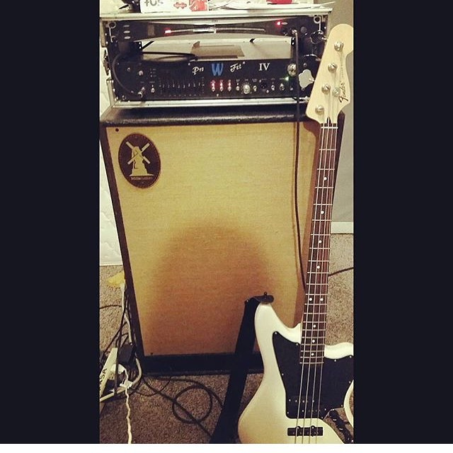 100 hand made Bass Thunder We love seeing your rigshellip