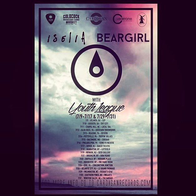 Check out beargirlband on tour now with a sweet backlinehellip